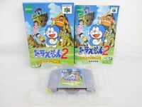 DORAEMON 2 Nobita Hikairi Shinden Nintendo 64 Import Japan Video Game n6