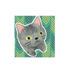 NEW Mary and the Witch's Flower Gibb Gray Cat Plush 14cm AMU-PRZ8820 US Seller