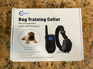 Esky Dog Training Collar Waterproof 100 meter LCD Backlight w/ Remote Control