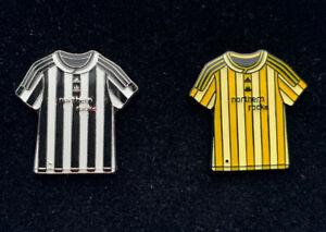 Newcastle United 2009/10 Home/Away Shirt Pin Badges