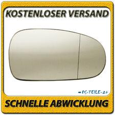 Außenspiegel Spiegelglas für AUDI TT 1998-2006 rechts Beifahrerseite asphärisch