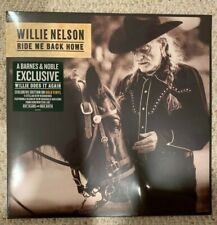 Willie Nelson Ride Me Back Home Exclusive Edition Gold Vinyl LP