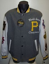Pittsburgh PIRATES 5 Time World Series Championship Soft Shell Jacket Small Med