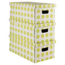 Contenitori e scatole con coperchio per la casa ebay for Scatola sottoletto
