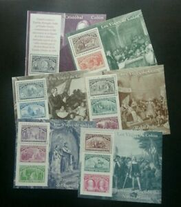[SJ] Spain Columbus Discovery Of America 1992 (ms complete set 6's) MNH