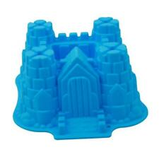 Large Castle Silicone Cake Mold Pan Muffin Chocolate Pastry Baking Tray Mould LD