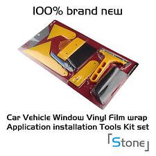 NEW 7pcs Window Tint Tool Kit for Auto Film Tinting Squeegee Razor Blade Scraper