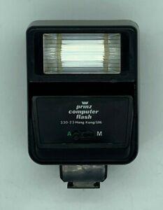 Vintage Prinz Computer Flash 330-23 Hong Kong/596 35mm Camera Flash