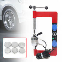 110V Tyre Repair Machine Vulcanizing Machine Tire Patches Maker + 6 Molds