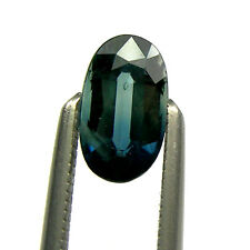 0.71 carat Oval 6.5x4mm Shape Green/Blue Natural Australian Parti Sapphire OPS41
