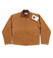 NOS Vtg 90s Carhartt Mens 42 Tall Blanket Lined Detroit Jacket Duck Brown USA