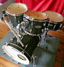 Pearl Midtown Drum Set Black/Sparkle ClubSet Shellset mit Taschen und Zubehör