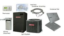 Goodman 3 Ton 14 SEER Heat Pump Split System GSZ140361 with Installation Kit