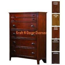 Comtempory Drawer of Shesham Wood Size 90 X 120 X 40 Cms in Brown Colour