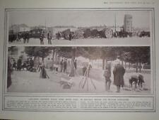 WW1 photo Bruxelles Brussels Belgium defences 1914