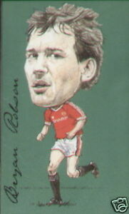 MANCHESTER UNITED  Collectors Card Set 20 Players - Robson Giggs Cantona Beckham