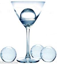 "4 Prepara XL 2"" DIAMETER Round Ice Balls Sphere SET OF 4 Cube Tray Cocktails"