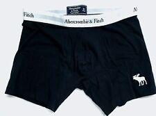 Abercrombie & Fitch NAVY BLACK A&F Mens Boxer Briefs Underwear MEDIUM M