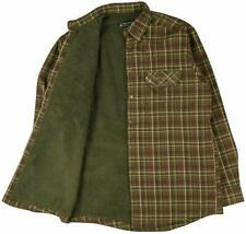 Deerhunter Men's Milo Shirt - Pile Lining - Green Check - RRP £73