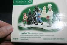 Dept 56 Christmas In The City Excellant Taste