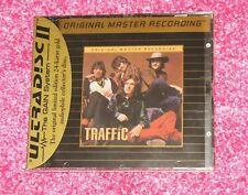 TRAFFIC - S/T - Rare MFSL GOLD Disc CD NEW - Ultradisc Steve Winwood Debut 1st