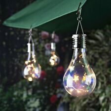 LED Solor Bulb Light String Outdoor Waterproof Garden Hanging Decor Rotatable