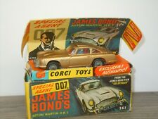 Aston Martin DB5 James Bond - Corgi Toys 261 England in Box *42041