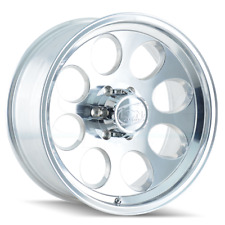 "4-New 15"" Ion 171 Wheels 15x10 6x5.5/6x139.7 -38 Polished Rims"