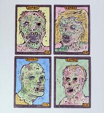 3x Zombie #11 Custom altéré jetons