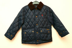 Polo Ralph Lauren Boys Armadillo Quilted Jacket Navy size 3 ,100/56
