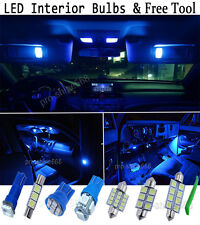 New Interior Car LED Bulbs Light KIT Package Xenon Blue For Ford S-max Facelift