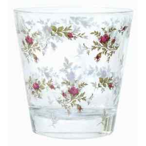 Wasserglas Wasser Rose Landhaus Shabby Brocante, Blanc Mariclo