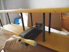BIPLANE AIRCRAFT , SHELF , CHILD'S ROOM , HANDMADE AND UNIQUE ITEM
