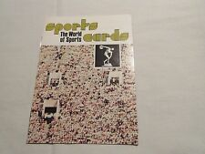 Sportscaster Cards , 1978  , Booklets , Lot of 10 Different , Soccer , Cycling