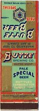 Scarce Montana 1930s Butte Special Beer Matchcover Tavern Trove