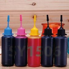 5 x 50Ml Bulk Ink Refill for Canon Pixma IP4820 IP4920 IP4950 IP4850 IP4600 4700