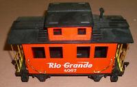 Eztec / Scientific Toys Red Rio Grande Caboose Car #4067 Train G Scale