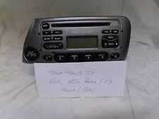 FORD KA  RADIO / CD PLAYER 6000 CD RDS WITH CODE AND SILVER / GREY FACIA