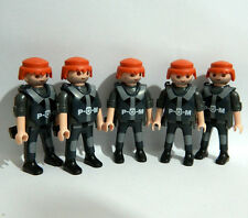 Playmobil 5 PM Police Figures