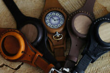 Leather strap 50mm For Pocket Watch watch Antique WW1 times Brown color New WWII