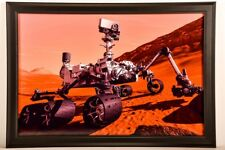 Mars Rover Space Poster, 16X24 poster, professionally wall mounted and framed!