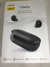 ZOLO BY ANKER LIBERTY TOTAL WIRELESS EARPHONES Bluetooth Earbuds - BLACK
