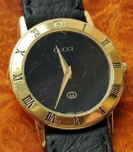 GUCCI 3000 J  Quartz Battery powered Ladies Watch