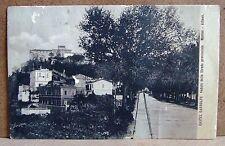 Castel Gandolfo veduto dalla Strada provinciale [piccola, b/n, viaggiata]
