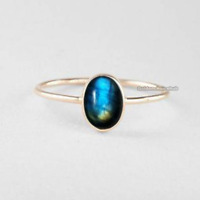 Labradorite  Ring 925 Sterling Silver Band Ring Jewelry Handmade All Size x-02