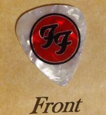 FOO FIGHTERS band logo guitar pick  -(w)