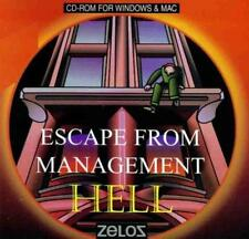 Escape From Management Hell PC MAC CD humorous business executives puzzle game!
