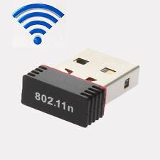 150Mbps 150M Mini USB2.0 WiFi Wireless Adapter Network LAN Card 802.11n/g/b+CD