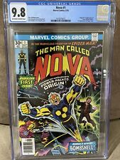Nova #1 CGC 9.8 Origin & 1st Appearance of Nova Bronze Age Key!  Highest CGC!