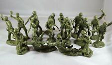 """TSSD07C """"WWII U.S. Marines (OD Green)"""" 54mm Plastic Toy Soldiers"""